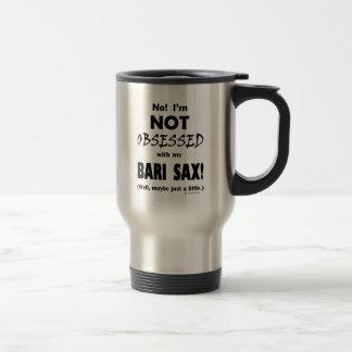 Obsessed Bari Sax Travel Mug