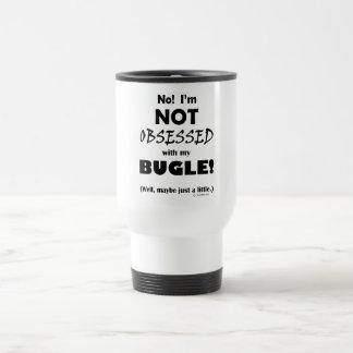 Obsessed Bugle Travel Mug