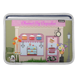 Obsessed by CUPCAKES MACBOOK Rickshaw Sleeve