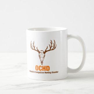 Obsessed Hunter Classic White Coffee Mug