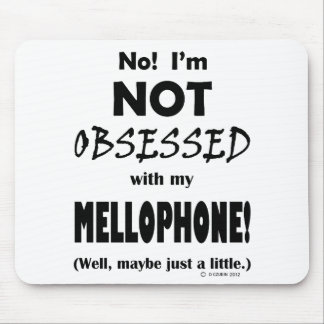 Obsessed Mellophone Mouse Pad
