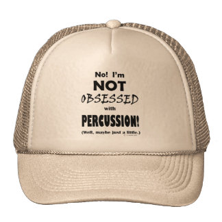 Obsessed Percussion Mesh Hat