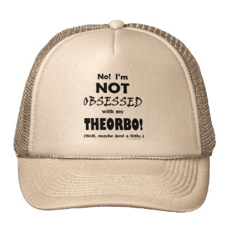 Obsessed Theorbo Mesh Hat
