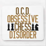 Obsessed with Chess Mouse Pad