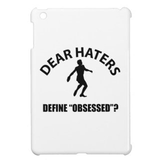 Obsessed with Discus throw  designs iPad Mini Cases