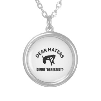 Obsessed with High Jump designs Custom Necklace