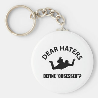 Obsessed with Para Gliding designs Keychains