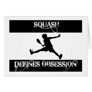 obsessed with squash card