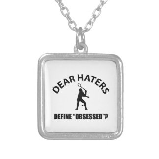Obsessed with Tennis designs Necklace