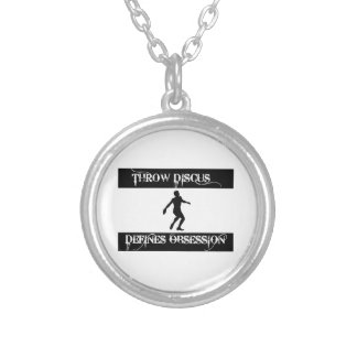 obsessed with throw discus custom jewelry