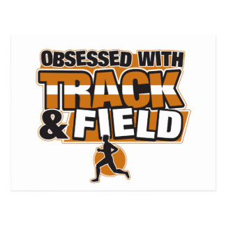 Obsessed With Track and Field Postcard