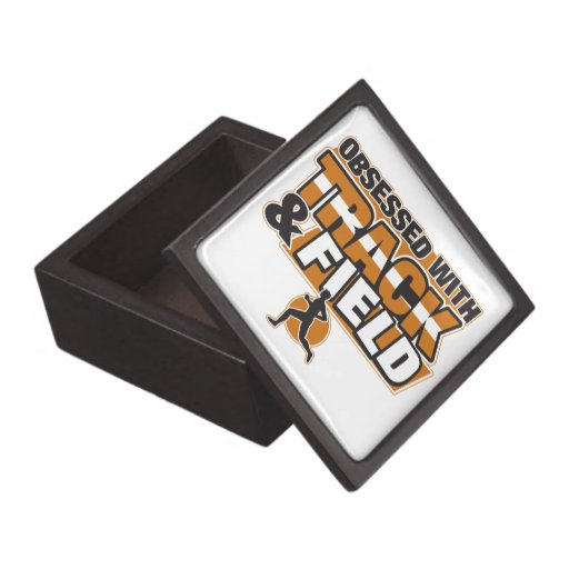 Obsessed With Track and Field Premium Keepsake Boxes