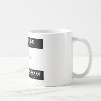 obsessed with water ski coffee mug