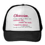 Obsession Definition Mesh Hat