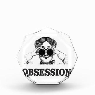 obsession woman acrylic award