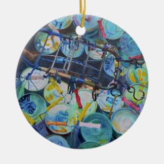 obsessions ceramic ornament