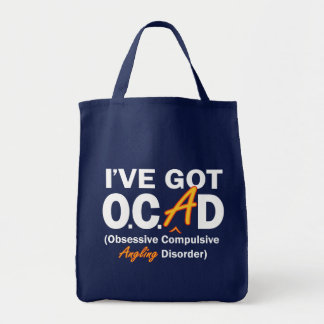 Obsessive Angling Disorder Tote Bag