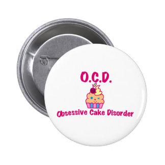 Obsessive Cake Disorder Button
