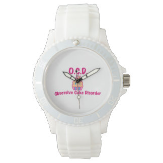 Obsessive Cake Disorder Wristwatch
