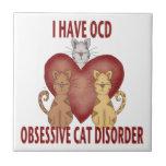 Obsessive Cat Disorder Tile