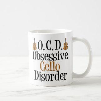 Obsessive Cello Disorder Coffee Mug