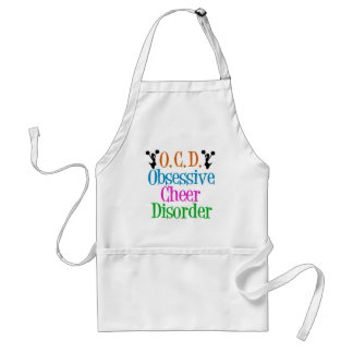 Obsessive Cheer Disorder Adult Apron
