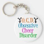 Obsessive Cheer Disorder Key Chain