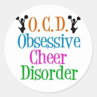 Obsessive Cheer Disorder Sticker
