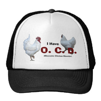Obsessive Chicken Disorder: Mixed Breeds Trucker Hat