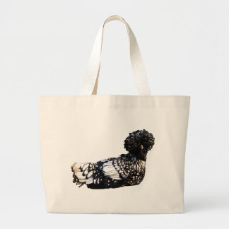 Obsessive Chicken Disorder: Polish Crested Large Tote Bag