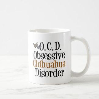 Obsessive Chihuahua Disorder Classic White Coffee Mug