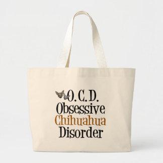 Obsessive Chihuahua Disorder Jumbo Tote Bag