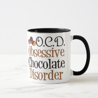 Obsessive Chocolate Disorder Mug