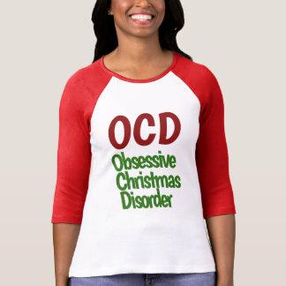 Obsessive Christmas Disorder Tee Shirts