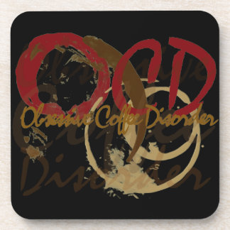 Obsessive Coffee Disorder Beverage Coaster
