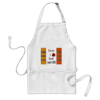 Obsessive Coffee Disorder - OCD Adult Apron