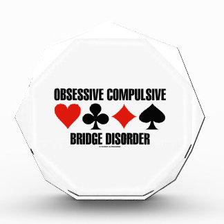 Obsessive Compulsive Bridge Disorder (OCBD) Acrylic Award