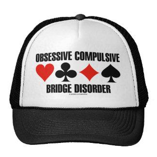 Obsessive Compulsive Bridge Disorder (OCBD) Trucker Hats