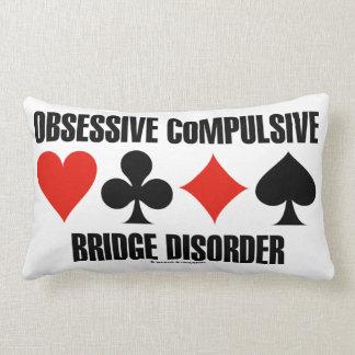 Obsessive Compulsive Bridge Disorder (OCBD) Pillow