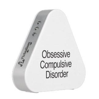 Obsessive Compulsive Disorder.ai Bluetooth Speaker