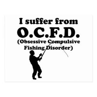 Obsessive Compulsive Fishing Disorder Postcards