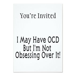 Obsessive Compulsive Obsession Invitation