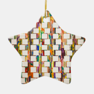 Obsessive Compulsive Zipper Ceramic Ornament