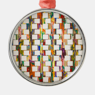 Obsessive Compulsive Zipper Metal Ornament
