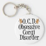 Obsessive Corgi Disorder Key Chains