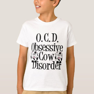 Obsessive Cow Disorder Kids T-Shirt