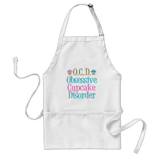 Obsessive Cupcake Disorder Adult Apron