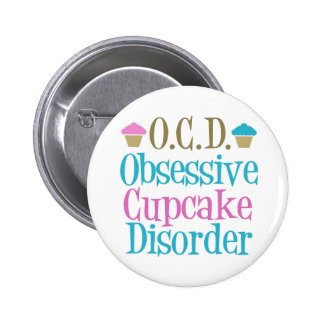 Obsessive Cupcake Disorder Pins
