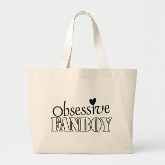 Obsessive Fanboy Canvas Bags