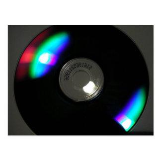 Obsidian Disk Postcard